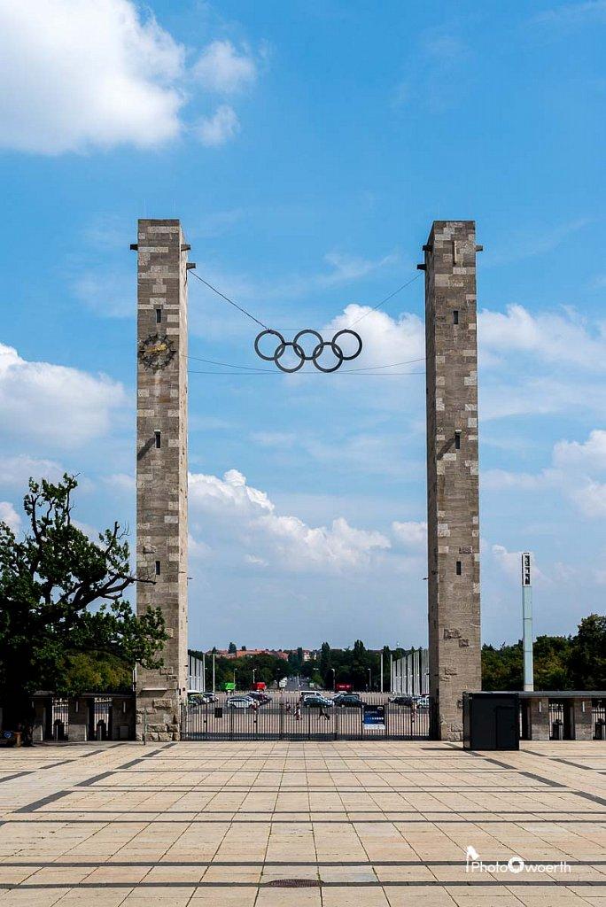 Olympiastadion, Eingang