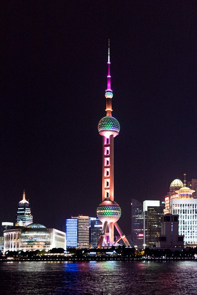 Shanghai, TV-Tower seen from the Bund